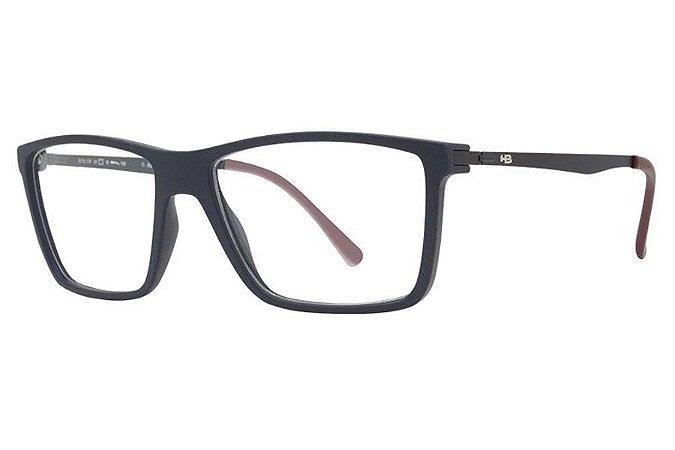 Óculos de Grau HB Duotech 93139/61 Azul Fosco