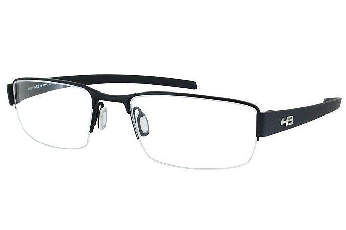 Óculos de Grau HB Mxfusion 93071/53 Preto/Preto Fosco