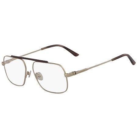 Óculos de Grau Calvin Klein CK18106 717/55 Dourado