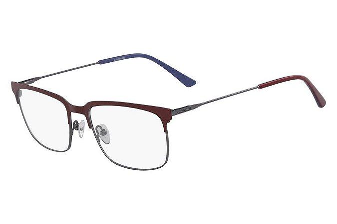 Óculos de Grau Calvin Klein CK18109 601/55 Vermelho