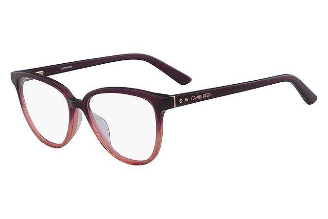 Óculos de Grau Calvin Klein CK18514 512/52 Ameixa