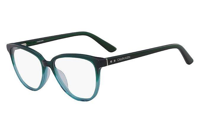 Óculos de Grau Calvin Klein CK18514 304/52 Verde