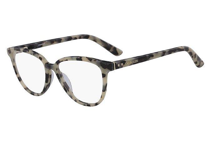 Óculos de Grau Calvin Klein CK18514 106/52 Tartaruga Creme