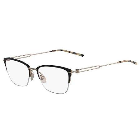 Óculos de Grau Calvin Klein CK8065 007/52 Preto Fosco/Dourado