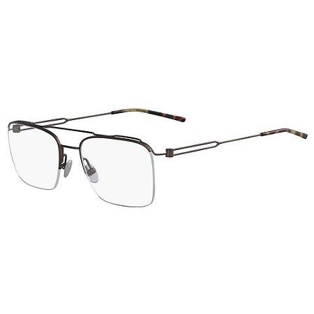 Óculos de Grau Calvin Klein CK8062 223/53 Marrom Fosco