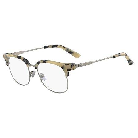 Óculos de Grau Calvin Klein CK8060 107/52 Tartaruga Creme