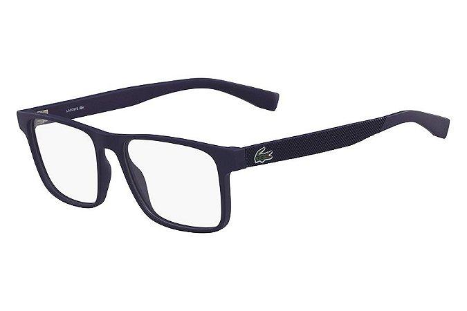 Óculos de Grau Lacoste L2817 424/54 Azul Fosco