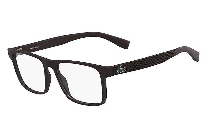 Óculos de Grau Lacoste L2817 210/54 Marrom Fosco