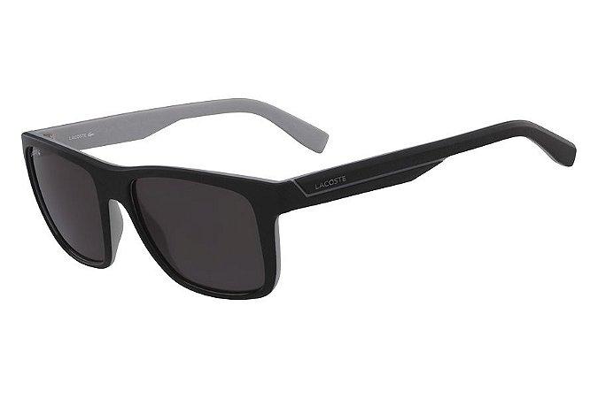 Óculos de Sol Lacoste L876S 002/57 Preto Fosco/Cinza
