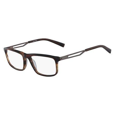 Óculos de Grau Nautica N8142 212/56 Marrom