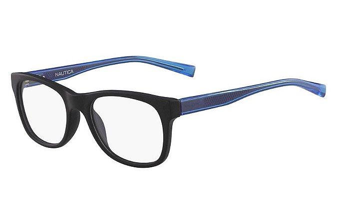 Óculos de Grau Nautica N8141 005/54 Preto Fosco