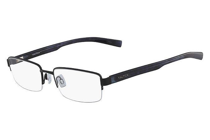 Óculos de Grau Nautica N7286 005/57 Preto Fosco