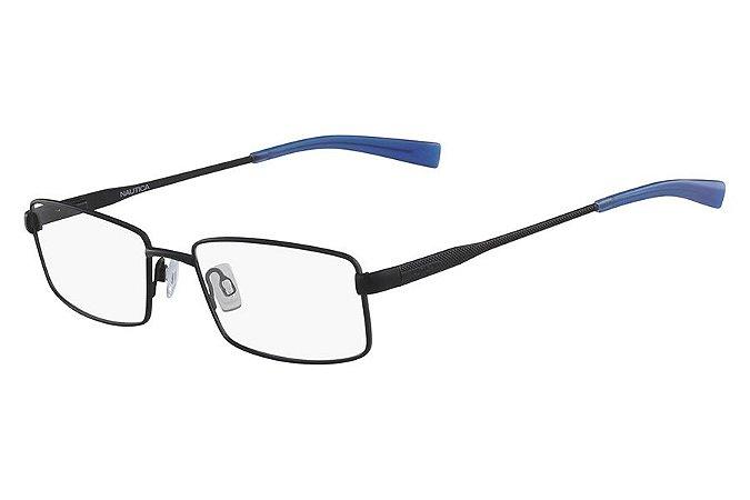 Óculos de Grau Nautica N7285 005/54 Preto Fosco