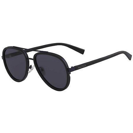 Óculos de Sol Nautica N4627SP 001/57 Preto - Polarizado