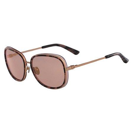 Óculos de Sol Calvin Klein CK8575S 643/59 Tartaruga Rosa