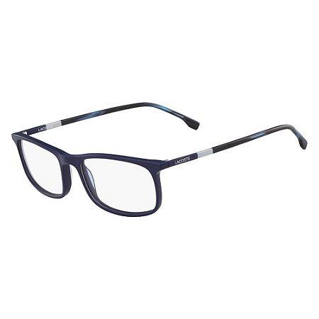 Óculos de Grau Lacoste L2808 424/55 Azul