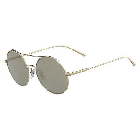 Óculos de Sol Calvin Klein CK2156S 714/54 Dourado
