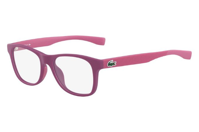 Óculos de Grau Lacoste L3620 526/48 Vermelho Fosco