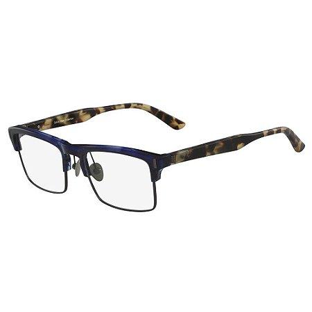 Óculos de Grau Calvin Klein CK8555 412/54 Azul