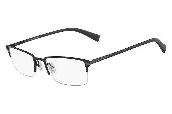 Óculos de Grau Nautica N7281 005/56 Preto Fosco
