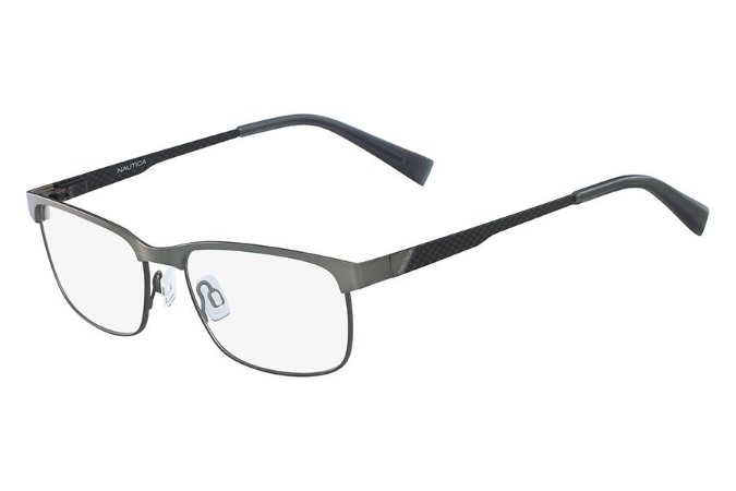 Óculos de Grau Nautica N7277 042/54 Cinza Fosco