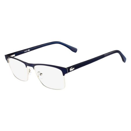 Óculos de Grau Lacoste L2198 424/55 Azul Fosco