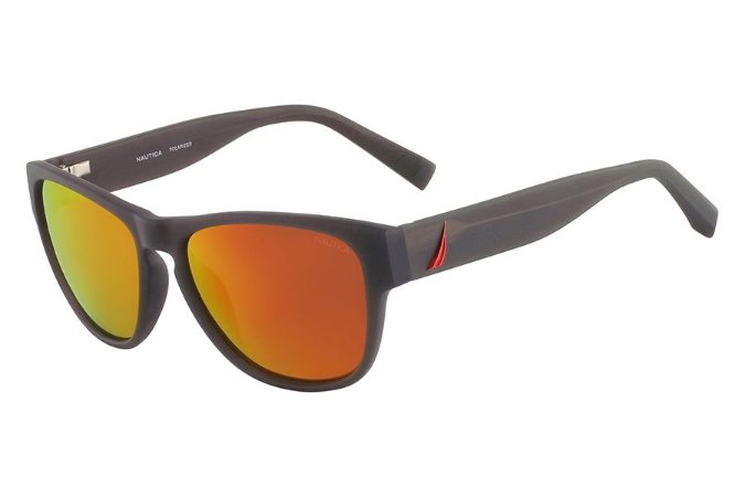 Óculos de Sol Nautica N6191S 009/56 Cinza Escuro Fosco