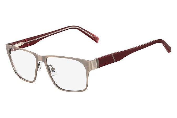 Óculos de Grau Nautica N7243 050/54 Prata Polido