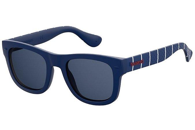 Óculos de Sol Havaianas Paraty/M Y00 KU/50 Azul