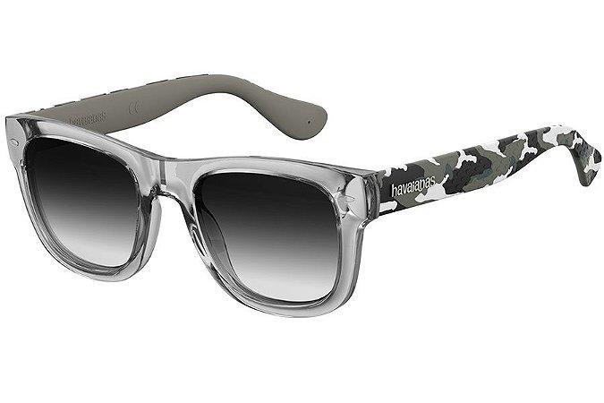 Óculos de Sol Havaianas Paraty/M 223843 20J-9O/50 Cinza Camuflado