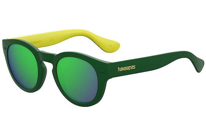 Óculos de Sol Havaianas Trancoso/M 223842 GP7-Z9/49 Amarelo/Verde