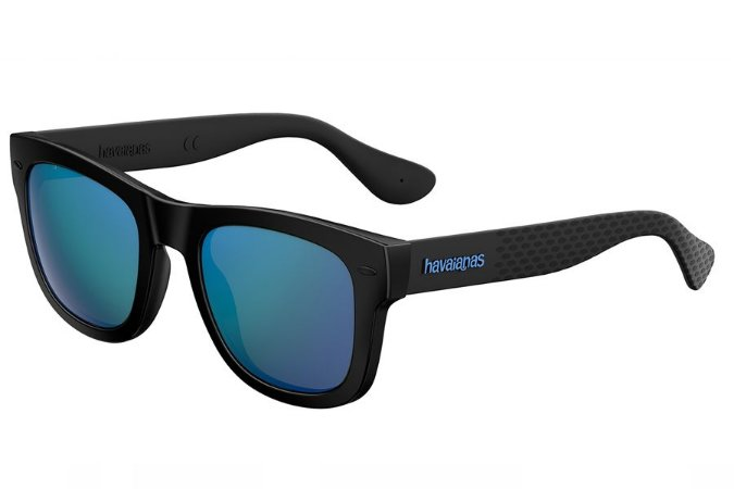 Óculos de Sol Havaianas Paraty/L 223841 QFU Z0/52 Preto