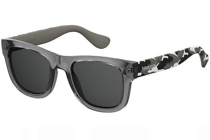 Óculos de Sol Havaianas Paraty/L 223841 20J-IR/52 Cinza/Camuflado