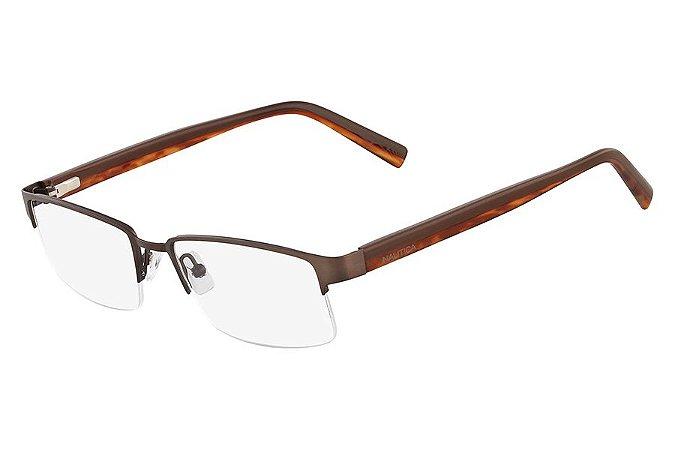 Óculos de Grau Nautica N7229 212/53 Marrom Claro