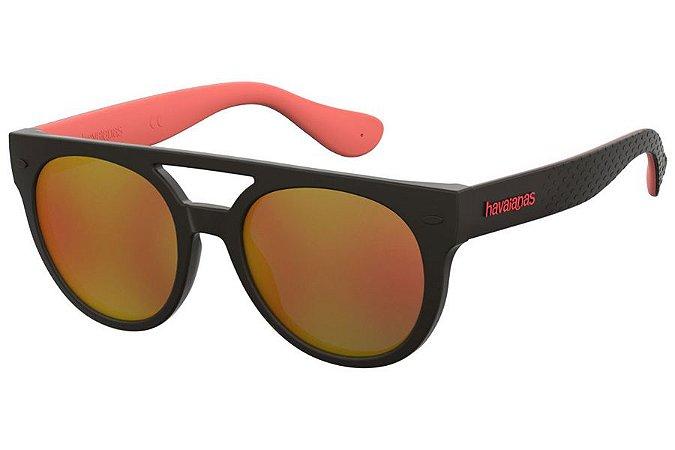 Óculos de Sol Havaianas Buzios U4Q UW/53 Preto/Vermelho
