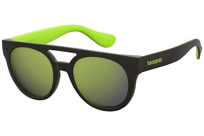 Óculos de Sol Havaianas Buzios 7ZJ QU/53 Preto/Verde