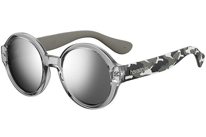 Óculos de Sol Havaianas Floripa/M 200537 20J-T4/51 Cinza Camuflado