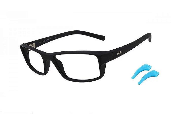 Óculos de Grau HB Polytech Teen 93115/54 Preto Fosco