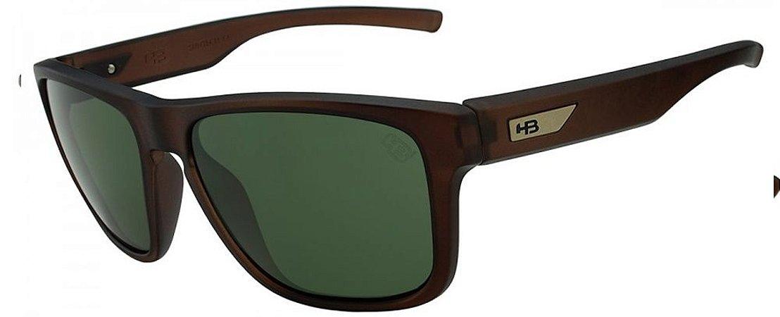 Óculos de Sol HB H-Bomb 9011228223/55 Marrom Fosco