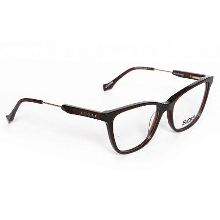 Óculos de Grau Evoke EVOKEFORYOUDX43H01/55 - Marrom