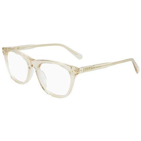 Óculos de Grau Calvin Klein Jeans CKJ19525 740/52 - Transparente