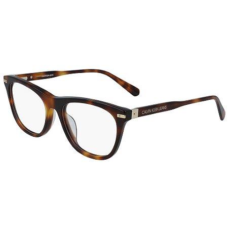 Óculos de Grau Calvin Klein Jeans CKJ19525 240/52 - Marrom