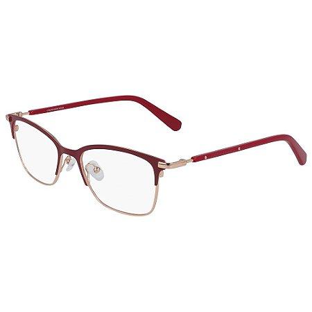 Óculos de Grau Calvin Klein Jeans CKJ19312 645/50 - Vermelho
