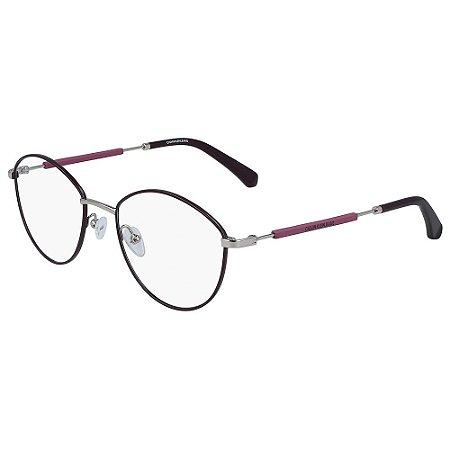 Óculos de Grau Calvin Klein Jeans CKJ19107 502/52 - Roxo