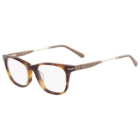 Óculos de Grau Calvin Klein Jeans CKJ18706 240/52 - Marrom