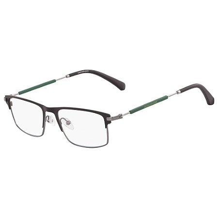 Óculos de Grau Calvin Klein Jeans CKJ18104 001/53 - Verde