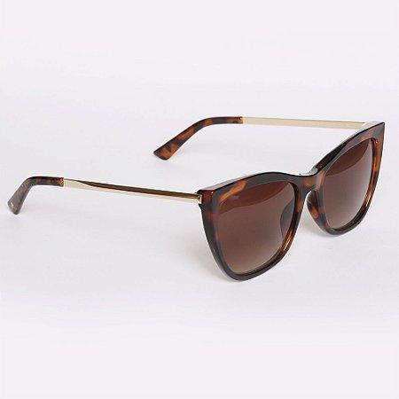 Óculos de Sol Atitude AT5420G21/56 - Marrom