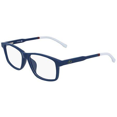 Óculos de Grau Lacoste L3637 424/49 - Azul - Infantil