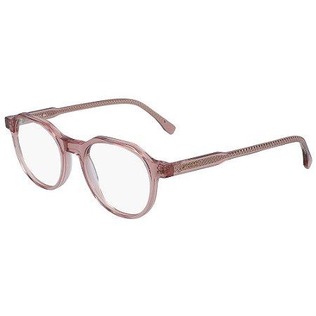 Óculos de Grau Lacoste L2851 664/49 - Rosa