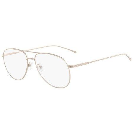 Óculos de Grau Lacoste L2505PC 718/58 - Prata